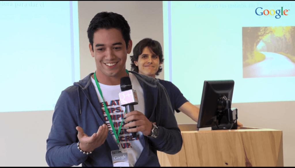 Conferencia Google Felipe Ganash